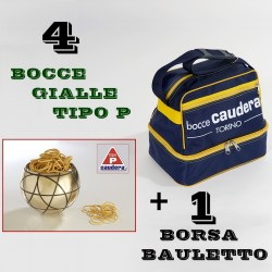 "COMBO BOCCE GIALLE TIPO ""P"""