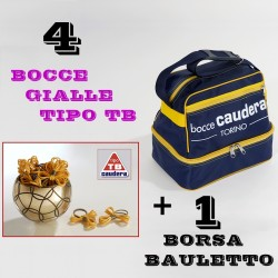 "COMBO BOCCE GIALLE TIPO ""TB"""