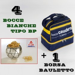 "COMBO BOCCE BIANCHE TIPO ""BP"""