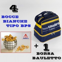 "COMBO BOCCE BIANCHE TIPO ""BPS"""